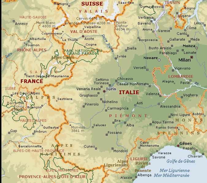Infos sur » turin carte italie » Vacances   Arts  Guides Voyages